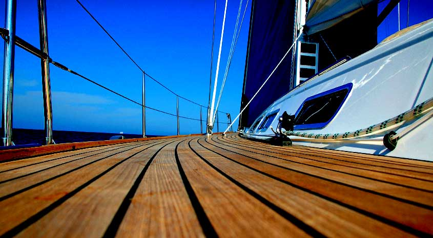 yacht decking and flooring
